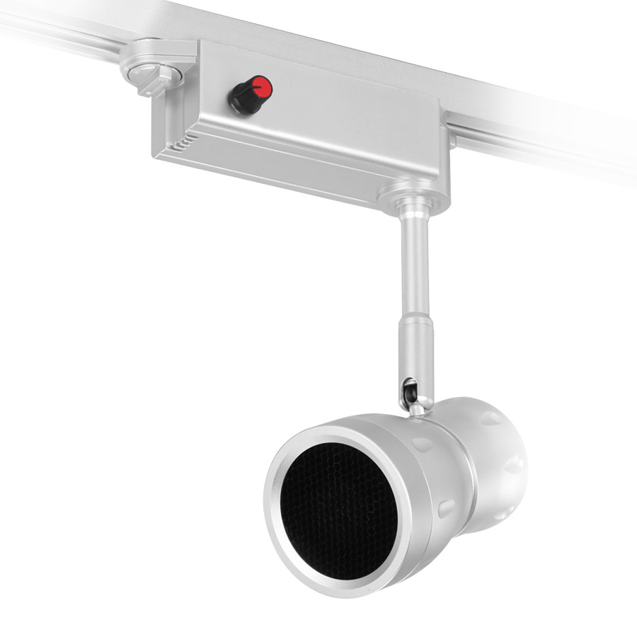 8709 18w led track spotlight adjustable beam angle