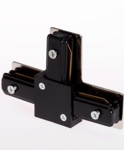T connector for track rail system
