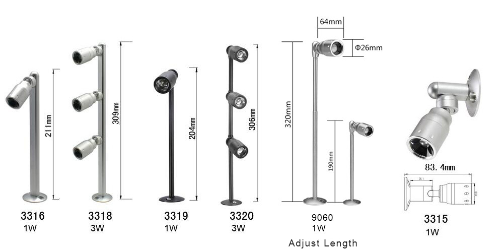 All Of Them Can Be Changed Beam Angle From 6 To 37 Degrees Steplessly The Focusable Led Downlights Are Perfect For Gl Cabinet Lighting Project