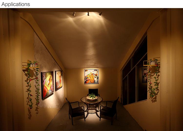 8327 6w mini beam angle led track spotlight for art gallery led track spot light for paintings mozeypictures Images