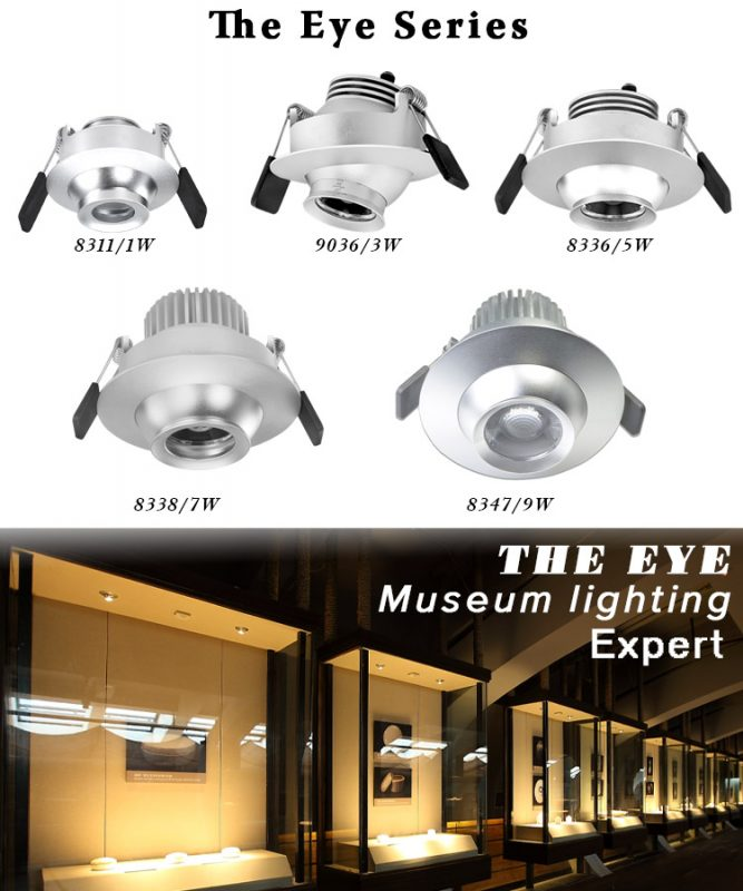 3w led adjustable beam spotlight series