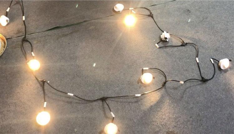 10 vnt. Lempučių, kurias jungia vairuotojas