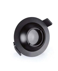 zoomable led downlight with filter